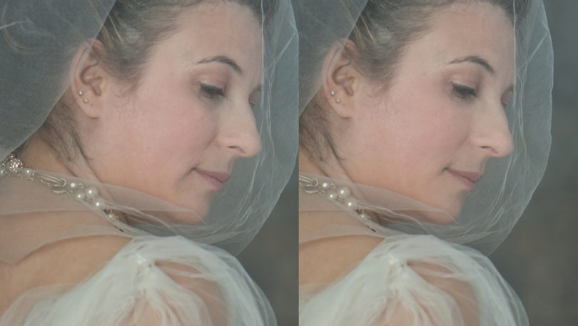 How to retouch skin under layer of fabric, and leave the fabric untouched? Here is how: video tutorial.